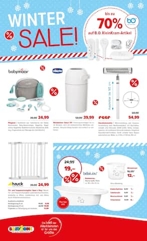 Aktueller BabyOne Prospekt, Winter-Sale!, Seite 8