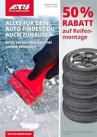 Aktueller A.T.U Auto Teile Unger Prospekt, ALLES FÜR DEIN AUTO FINDEST DU AUCH ZUHAUSE, Seite 1