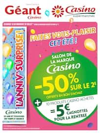 Catalogue Géant Casino en cours, Cahier salon de la marque Casino, Page 1
