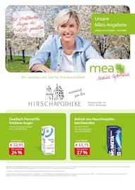 Aktueller mea - meine apotheke Prospekt, Unsere März-Angebote , Seite 1