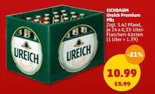 EICHBAUM Ureich Premium Pils Angebot: Im aktuellen Prospekt bei Penny-Markt in Mannheim