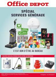 Catalogue Office DEPOT en cours, Spécial services généraux, Page 1