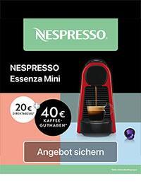 Aktueller Nespresso Prospekt, Momente der Wärme, Seite 1
