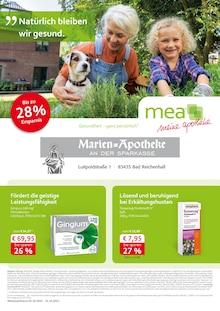 mea - meine apotheke Prospekt für Bad Reichenhall: Unsere Oktober-Angebote, 4 Seiten, 30.9.2021 - 31.10.2021