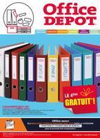 Catalogue Office DEPOT en cours, Je classe, je range, j'étiquette ! Profitez des offres de Janvier pour se sentir bien au bureau ou à la maison !, Page 1