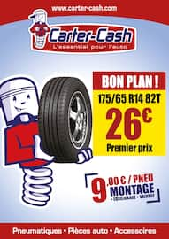 Catalogue Carter-Cash en cours, Bon plan !, Page 1