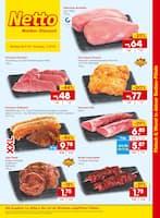 Aktueller Netto Marken-Discount Prospekt, Fleisch & Wurst in Ihrer Bedien-Filiale, Seite 1