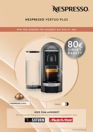 Aktueller Nespresso Prospekt, Wir verlängern Ihr Angebot bis zum 31. Mai, Seite 2
