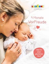 Aktueller BabyOne Prospekt, 9 Monate Vorfreude, Seite 1