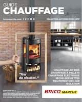 Catalogue Bricomarché en cours, Guide Chauffage, Page 1