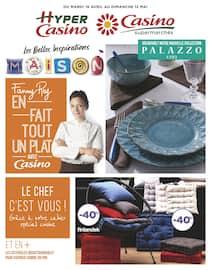 Catalogue Casino Supermarchés en cours, Les belles inspirations maison, Page 1