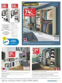 Catalogue Castorama en cours, Solutions déco & rangements, prix imbattables !, Page 11