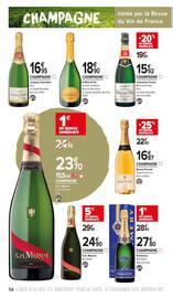 Catalogue Carrefour Market en cours, Apprendre à lire entre les vignes, Page 54