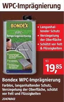 WPC-Imprägnierung Angebot: Im aktuellen Prospekt bei BAUHAUS in Bad Bederkesa