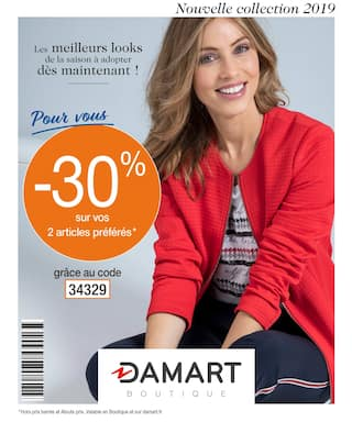 Catalogue Damart en cours, Nouvelle Collection 2019, Page 1