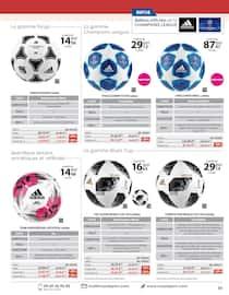 Catalogue Casal Sport en cours, Sports collectifs indispensables, Page 7