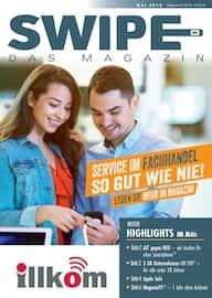 Aktueller Illkom GmbH Prospekt, SWIPE - Das Magazin, Seite 1