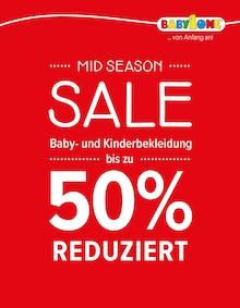 BabyOne, MID SEASON SALE für Bremen1