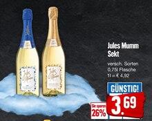 Sekt von Jules Mumm im aktuellen EDEKA Prospekt für 3.69€