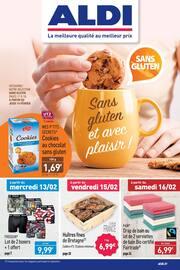 Catalogue Aldi en cours, Sans gluten et avec plaisir !, Page 1