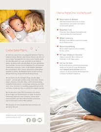 Aktueller BabyOne Prospekt, 9 Monate Vorfreude, Seite 2