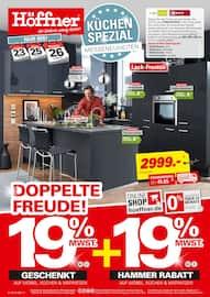 Aktueller Höffner Prospekt, Küchen-Spezial, Seite 1