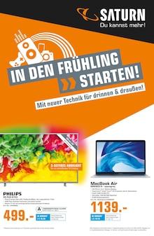 Saturn, IN DEN FRÜHLING >> STARTEN! für Nürnberg