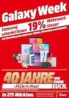 Aktueller MediaMarkt Prospekt, Galaxy Week, Seite 1