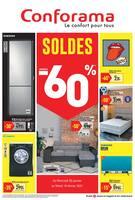 Catalogue Conforama en cours, Soldes : jusqu'à -60%, Page 1