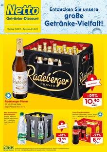 Netto Getränke-Markt, ENTDECKEN SIE UNSERE GROSSE GETRÄNKE-VIELFALT! für Chemnitz1
