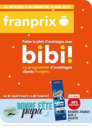 Catalogue Franprix en cours, Faites le plein d'avantages avec bibi !, Page 1