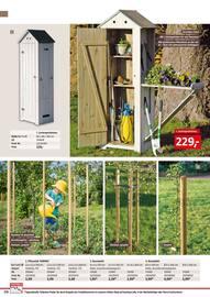 Aktueller BAUHAUS Prospekt, Gartengestaltung/Metallzaun, Seite 210