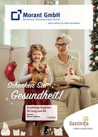 Aktueller Sanitätshaus G. Morant GmbH Prospekt, Schenken Sie Gesundheit!, Seite 1