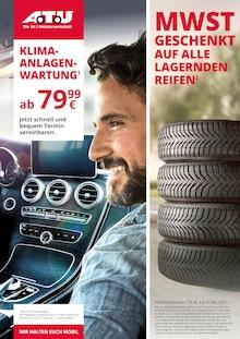 Der aktuelle A.T.U Auto Teile Unger Prospekt A.T.U Die Nr. 1 Meisterwerkstatt