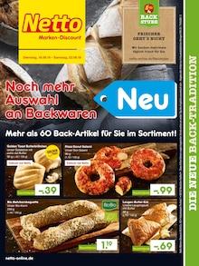 Netto Marken-Discount, DIE NEUE BACK-TRADITION für Falkenhagen (Mark)