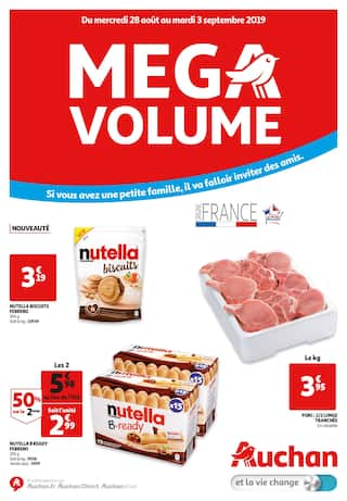 Catalogue Auchan en cours, Mega volume, Page 1