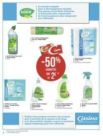 Catalogue Géant Casino en cours, La réponse en promos ! -100% sur le 3ème, Page 8