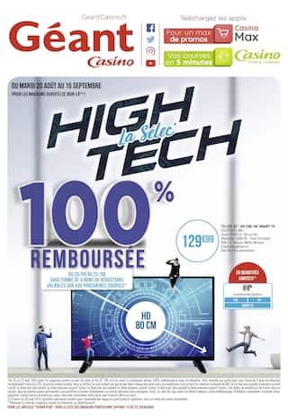 Catalogue Géant Casino en cours, La selec' High Tech, Page 1