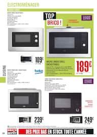 Catalogue Brico Dépôt en cours, Le prix, la qualité, le stock, Page 264