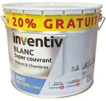 Peinture murs et plafonds mat 10 L + 2 L gratuits à Mr Bricolage dans La Fontonne