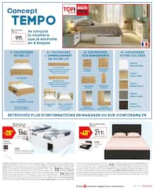 Catalogue Conforama en cours, Confo by night, Page 18