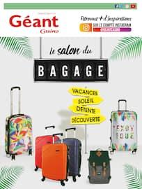 Catalogue Géant Casino en cours, Le salon du bagage, Page 1