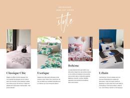 Catalogue Carré Blanc en cours, Les styles, Page 4