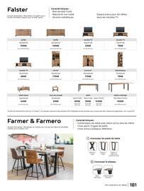 Catalogue H&H en cours, Guide d'inspiration & art de vivre, Page 181