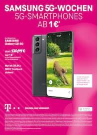 Aktueller Telekom Shop Prospekt, SAMSUNG 5G-WOCHEN, Seite 1