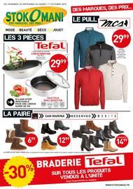 Catalogue Stokomani en cours, Stokomani, des marques, des prix ! , Page 1
