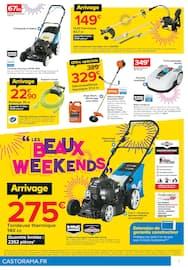 Catalogue Castorama en cours, LES BEAUX WEEK ENDS, Page 7