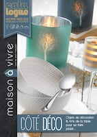 Catalogue Maison à Vivre en cours, Côté Déco, Page 1