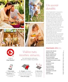 Catalogue Tupperware en cours, Construisons-lui un monde durable, Page 3