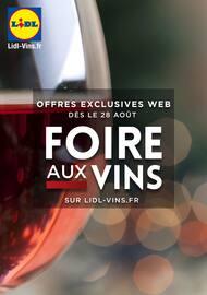 Catalogue Lidl en cours, Foire aux vins sur LIDL-VINS.FR, Page 1